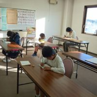 公文長府商店街書写教室の画像2